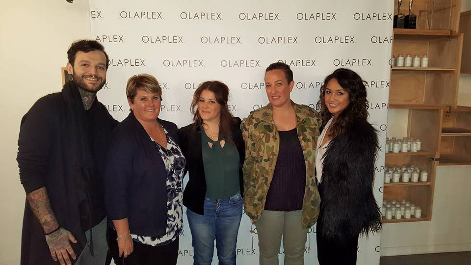 Simone and Gina attended an Olaplex evening