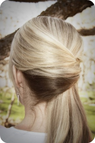 Wonderful Stylist Christel Man Knows The Edgy Allure Of A Twisted Ponytail Rock This Couture Look By Slicking Hair Back Or In A Side Part And Twist, Securing At The Nape Of The