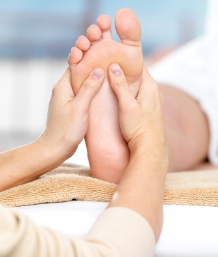 Foot care for email