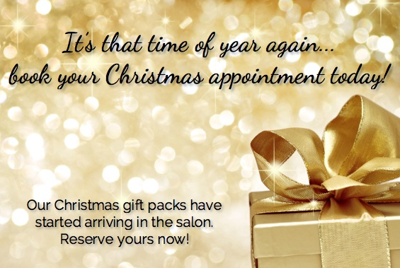 Christmas Beauty Appointments.Christmas Appointment Hairdresser Beauty Therapy In Glen